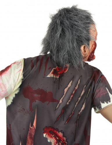 Zombie-Maske mit Haaren-2