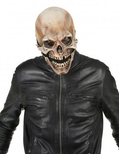 Totenkopf Maske - Deluxe Halloween