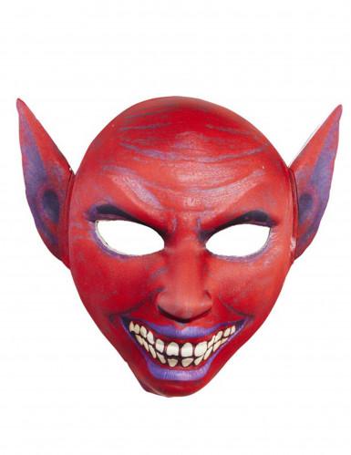 Roter Dämon Maske für Erwachsene-1