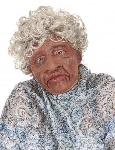 Maske Großmutter mit beweglichem Mund