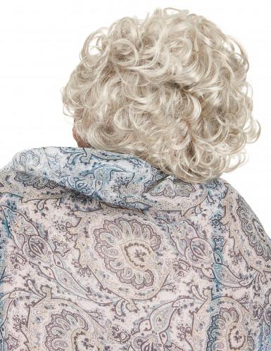 Maske Großmutter mit beweglichem Mund-1