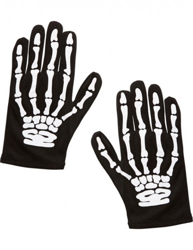 Skelett-Handschuhe Kinder