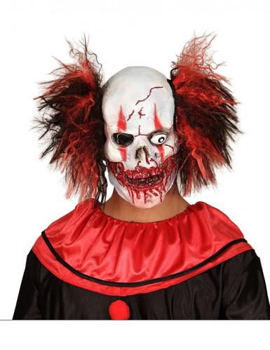 Halloween Maske blutiger Clown