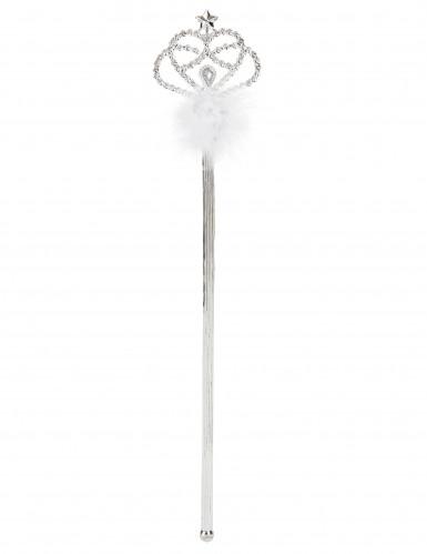 Prinzessinnen-Stab mit weißem Fell