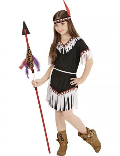 Indianerin-Kostüm für Mädchen-1