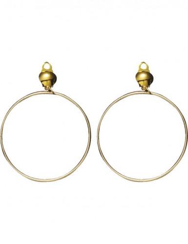 Goldene Ohrringe für Erwachsene-1