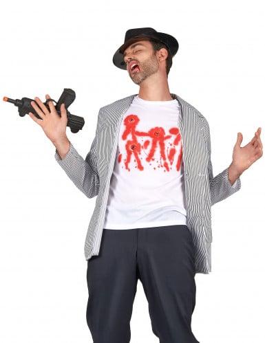 T-Shirt mit Einschusslöchern für Männer
