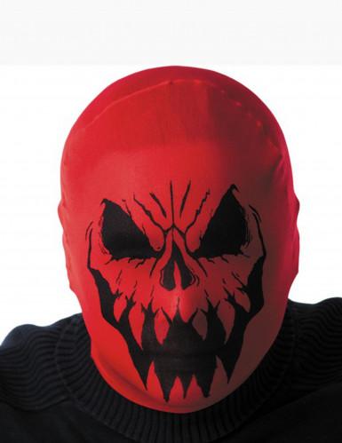 Rote Monster Maske für Erwachsene Halloween