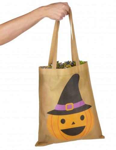 Bonbontasche Kürbis für Halloween-2