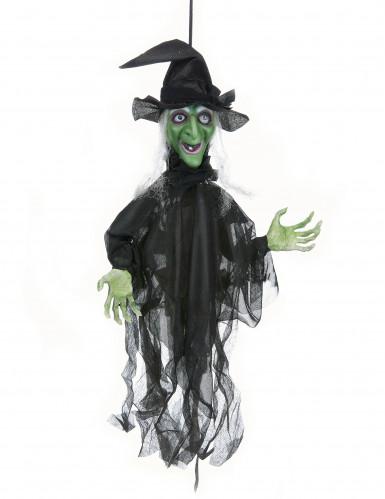 Lebendige Hexe für Halloween