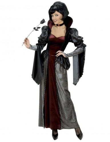 Vampir Gräfin Luxus Kostüm Damen