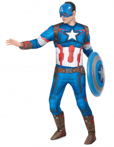 Deluxe Kostüm Captain America™-1