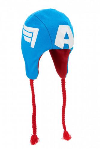 Captain America™ Mütze für Erwachsene