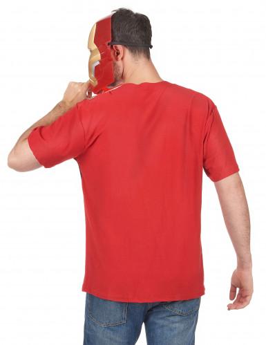 T-Shirt und Maske aus dem Film Iron Man 2 für Erwachsene-1