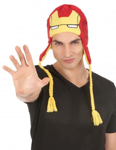 Iron Man™ Mütze für Erwachsene-1