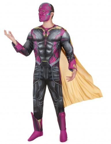 Luxuriöses Erwachsenen-Komplett-Kostüm Vision - Avengers Film 2-1