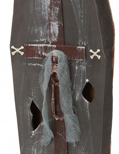 Sarg mit Kreuz - Halloween-2