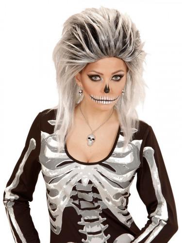 Kette mit Schädel für Damen Halloween-1
