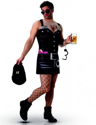 Freches Polizei-Kostüm für Männer