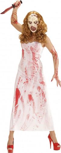 Blutiger Killer Kostüm Damen
