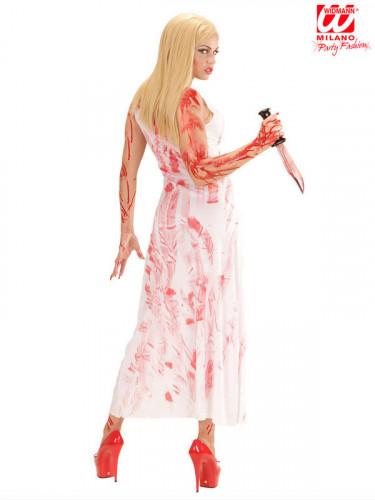 Blutiger Killer Kostüm Damen-1
