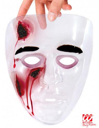 Maske blutende Wunden-1