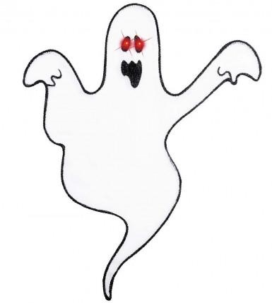 Halloween Wanddekoration Geist mit LED