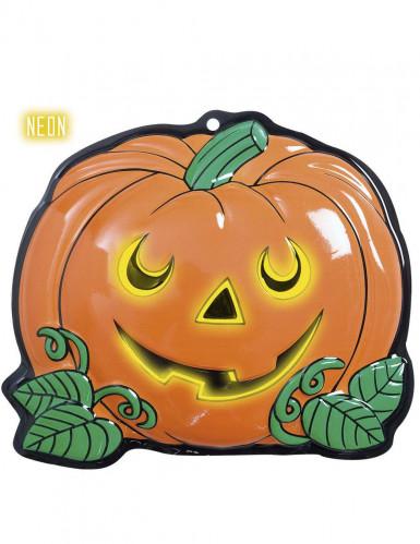 Halloween-Wanddekoration Kürbis 25 x 22 cm