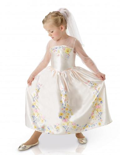 Cinderella Hochzeitskleid für Mädchen 110/116 (5-6 Jahre)