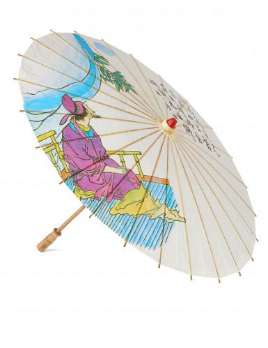 Sonnenschirm chinesisch 85 cm Einheitsgröße 4XPLT01