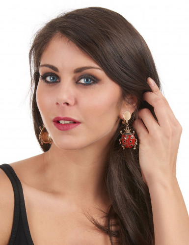 Marienkäfer Ohrringe für Erwachsene-1
