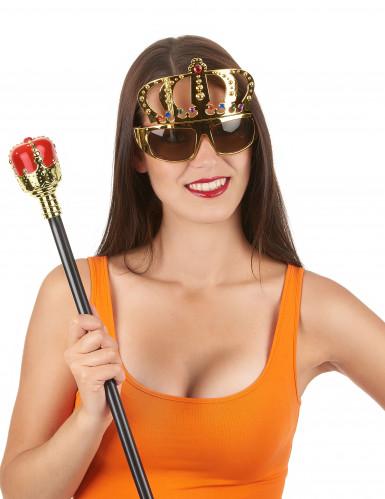Brille mit königlicher Krone für Erwachsene-1
