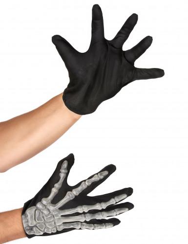 Accessoires Skelett-Handschuhe