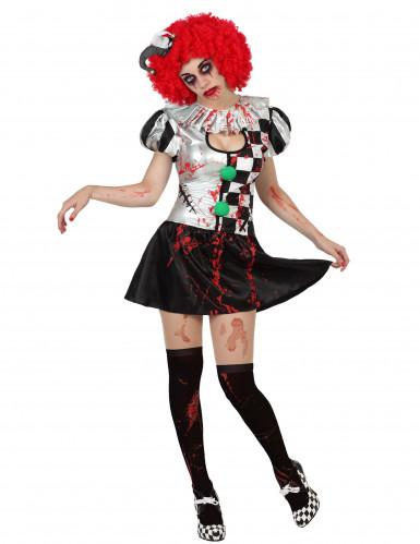 Sexy Harlekin Kostüm Frau