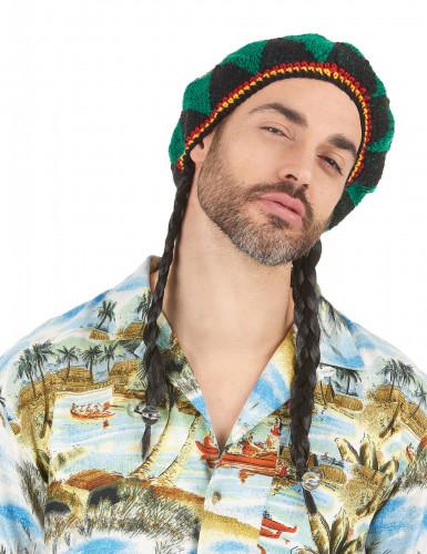 Reggae Perücke für Erwachsene