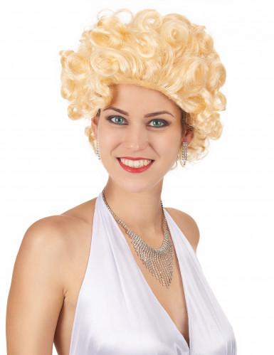 Blonde Kurzhaar Hollywood-Perücke für Damen