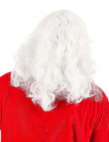 Perücke mit Bart für Weihnachtsmann-1