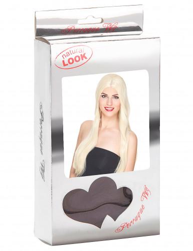 Luxus Perücke mit sehr langen blonden Haaren für Frauen-2