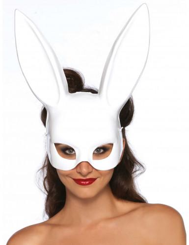 Weißer Hase Maske für Erwachsene