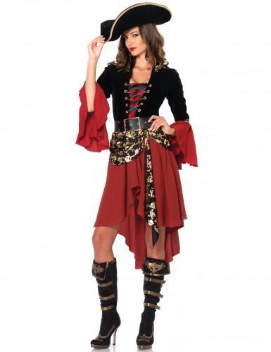 elegantes piraten kost m f r frauen kost me f r erwachsene und g nstige faschingskost me vegaoo. Black Bedroom Furniture Sets. Home Design Ideas