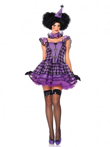 Harlekin-Kostüm für Frauen