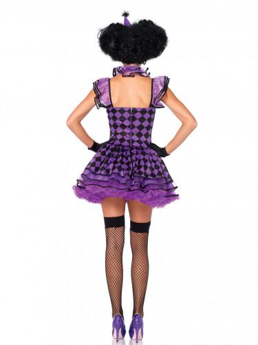 Harlekin-Kostüm für Frauen-2
