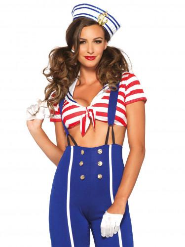 Verkleidung Seefahrerin für Frauen-2