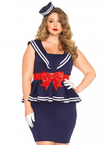 Matrosen-Kostüm für Damen-2
