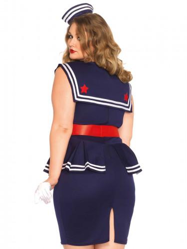 Matrosen-Kostüm für Damen-1