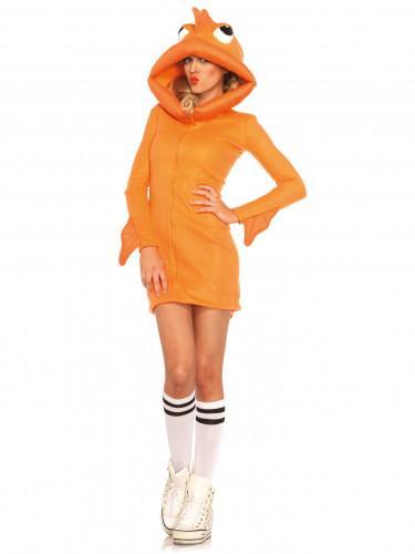 Goldfisch-Kostüm für Damen