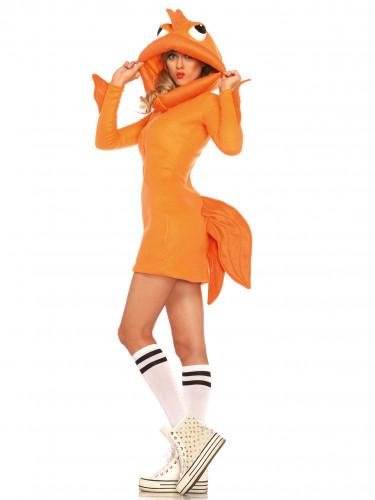 Goldfisch-Kostüm für Damen-3