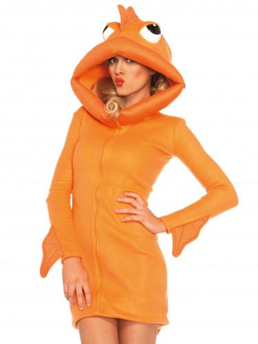 Goldfisch-Kostüm für Damen-2