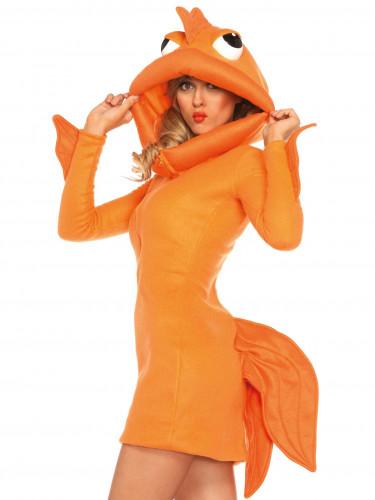 Goldfisch-Kostüm für Damen-1