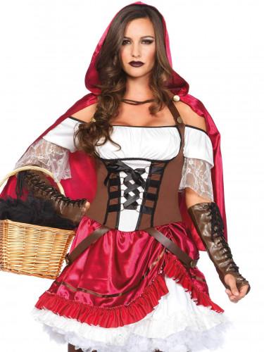 Kostüm Rebellisches Rotkäppchen für Damen-1